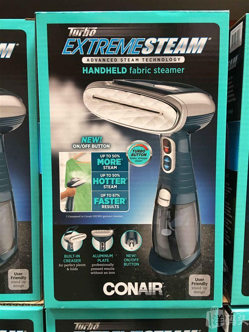 Conair 手持式蒸汽挂烫机烫衣机手提熨烫机 新包装