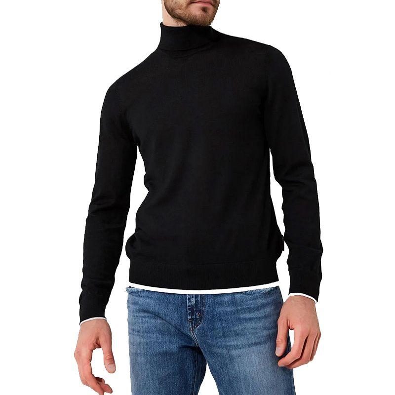 Emporio Armani/阿玛尼男士 纯羊毛保暖高领毛衣 18新款6Z1MY2