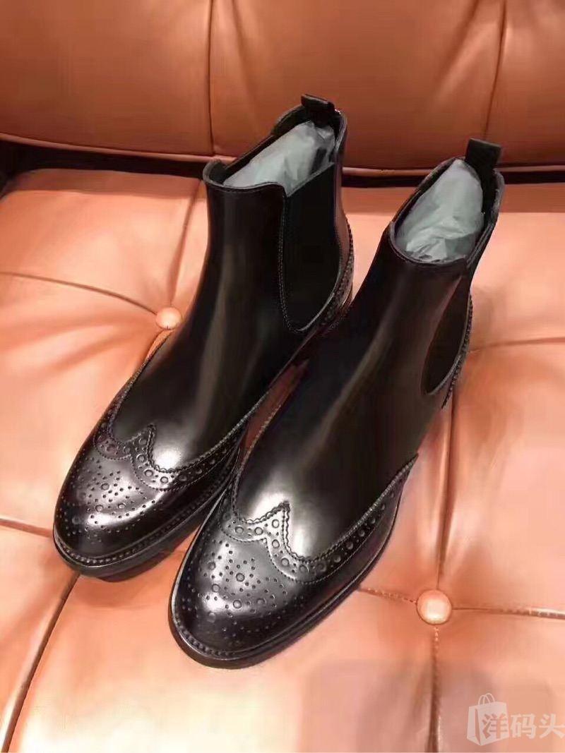 churchs 切尔西靴 经典 雕花女士短靴 杨幂 贝嫂同款