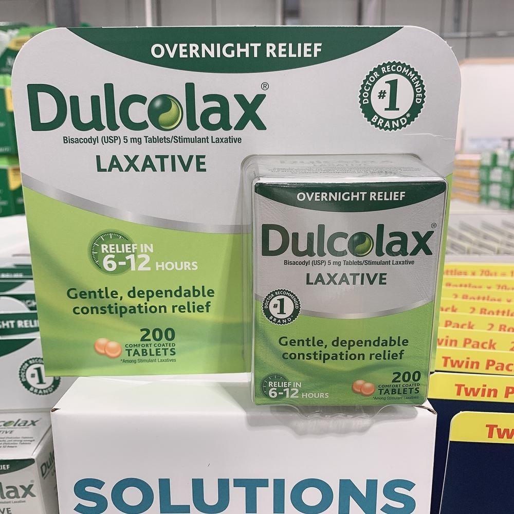 美国直邮Dulcolax Tablets通便肠溶丸 缓解便秘安全温和200粒