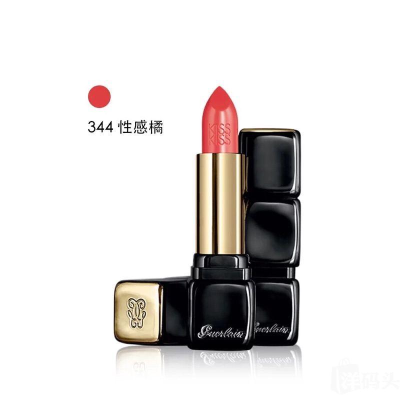 Guerlain娇兰kiss kiss 口红3.5g 372# 321#324#