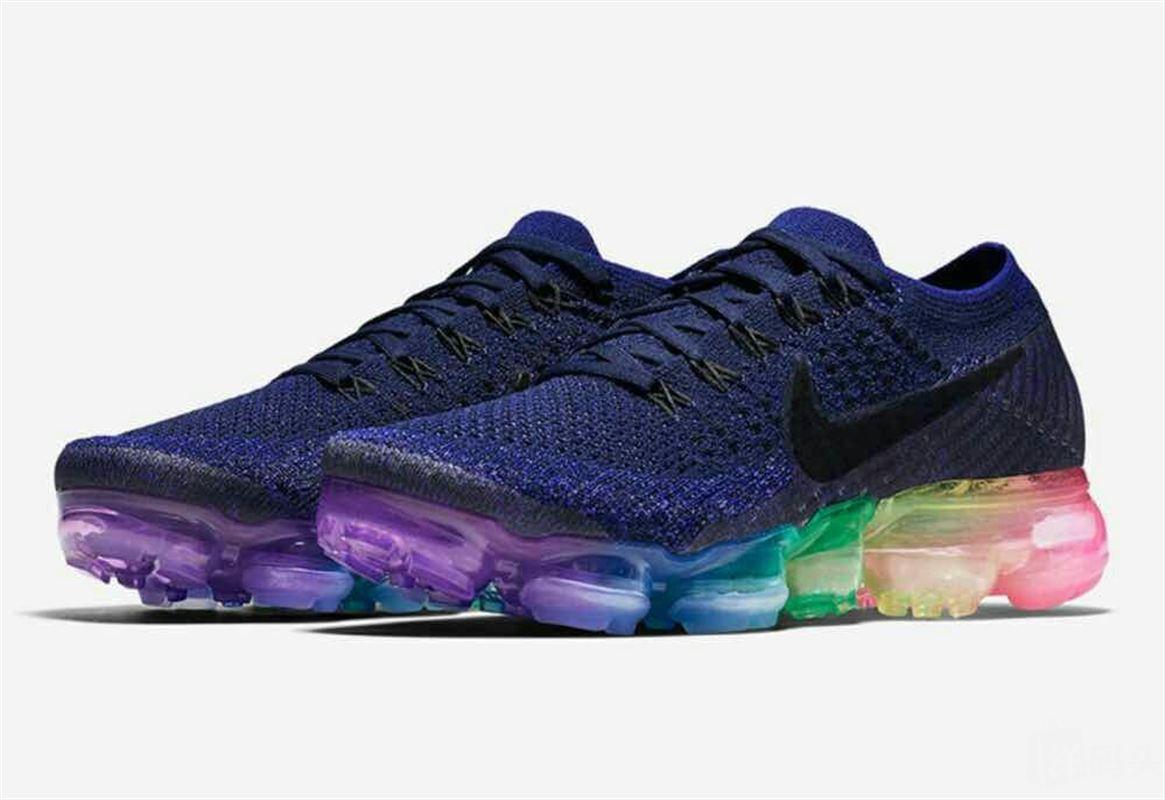 nike air vapormax 彩虹气垫 运动鞋跑步鞋 男女同款图片