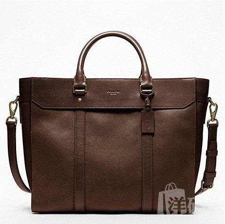 蔻驰 NEW CROSSBODY LEATHER BUSINESS TOTE_F70715