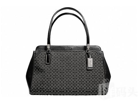 COACH Madison Needlepoint Op Art Kimberly Carryall