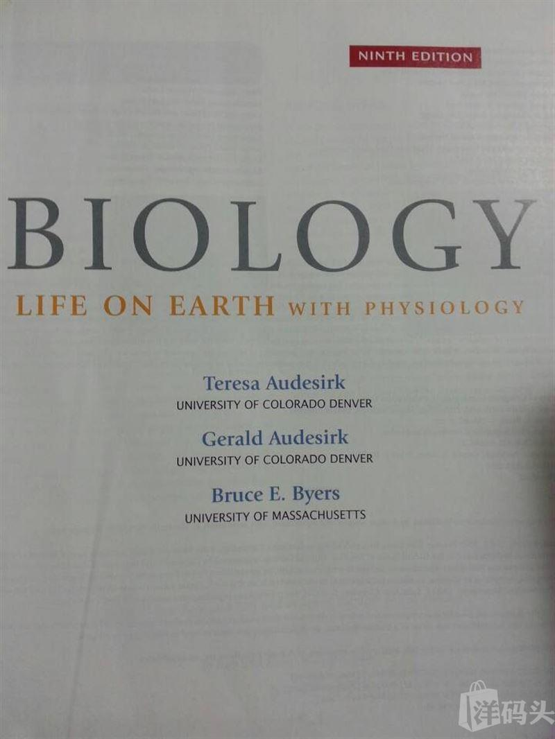 Biology Life on Earth ( Ninth Edition)
