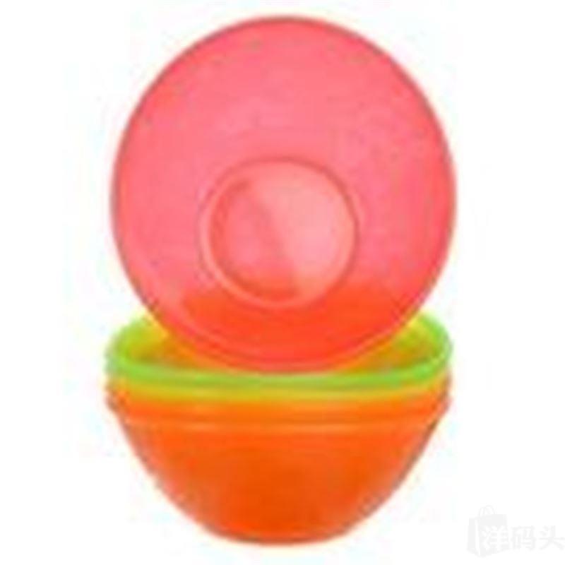 美国直邮munchkin不含BPA彩色小船碗可微波5只装不拆单