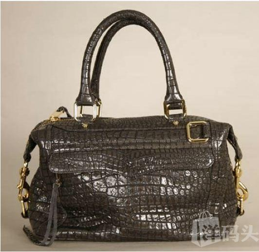 美国直递 Rebecca Minkoff Croc-Embossed Morning After经典包款