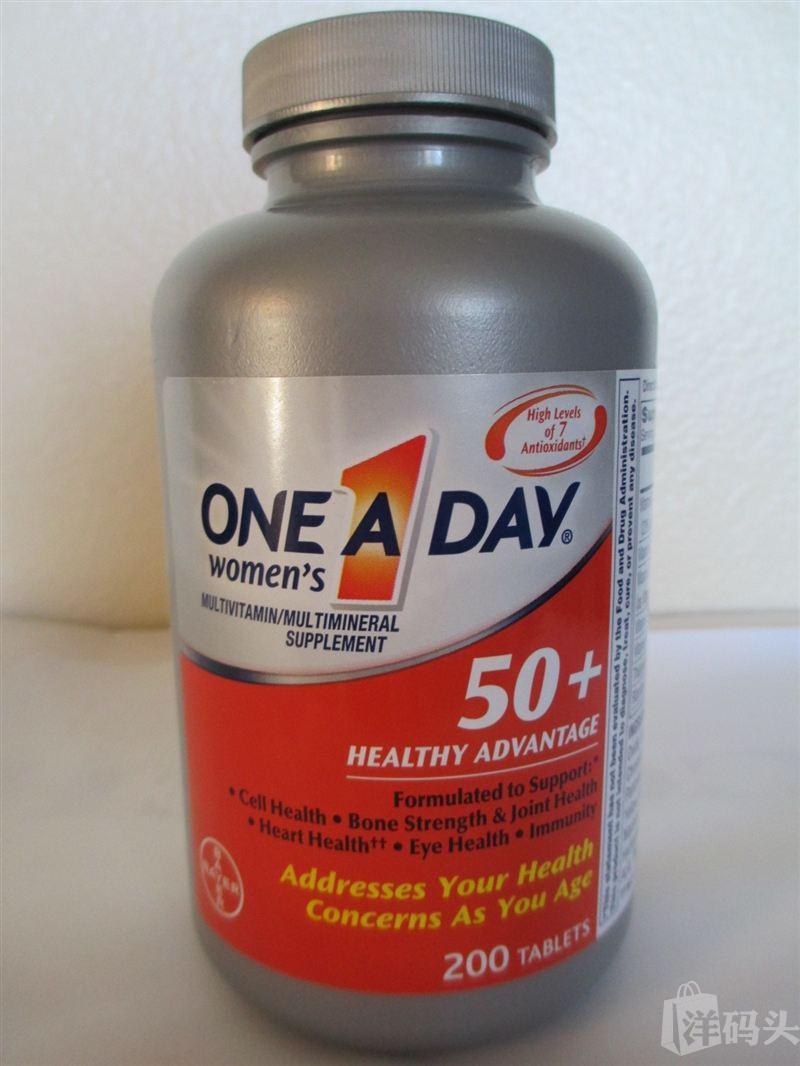 One A Day拜耳50+女性复合维生素200粒