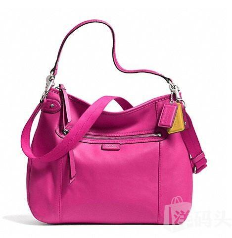蔻驰 DAISY LEATHER CONVERTIBLE HOBO_STYLE  F23937