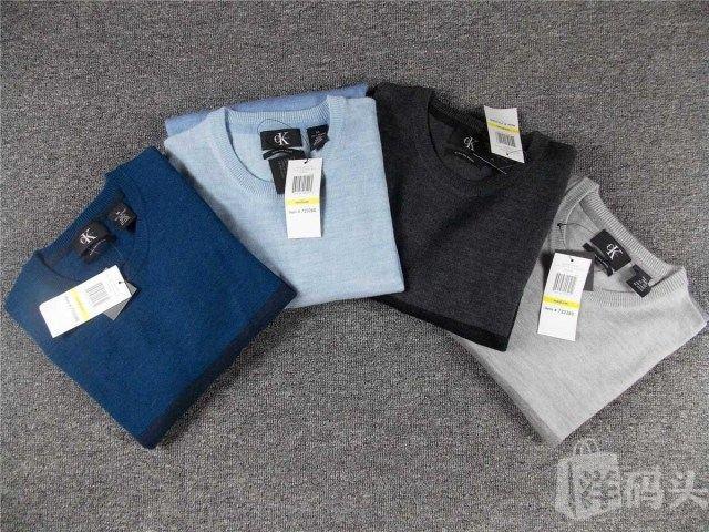 calvin klein CK美丽诺纯羊毛衫4款,贴身穿也不扎,保暖又舒适