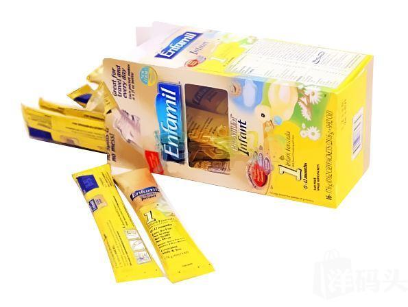 (美国直邮)Enfamil美赞臣一段便携装奶粉条 17.4g*16条/盒 包邮