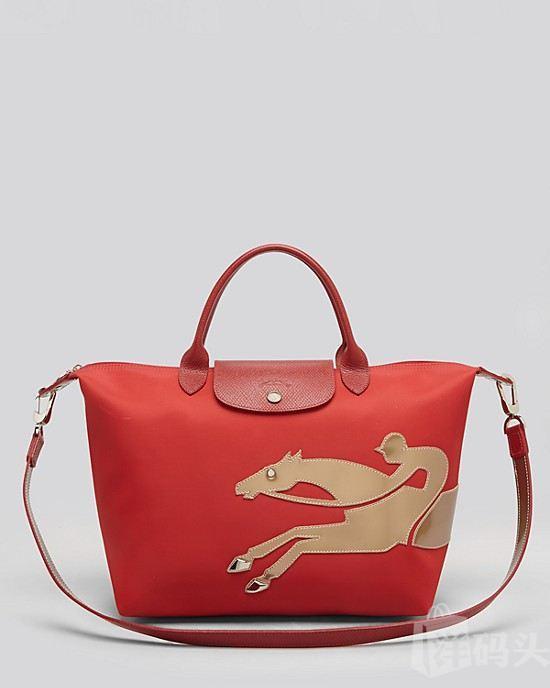 美国原装正品包邮!新款Longchamp限量版 中国马年包