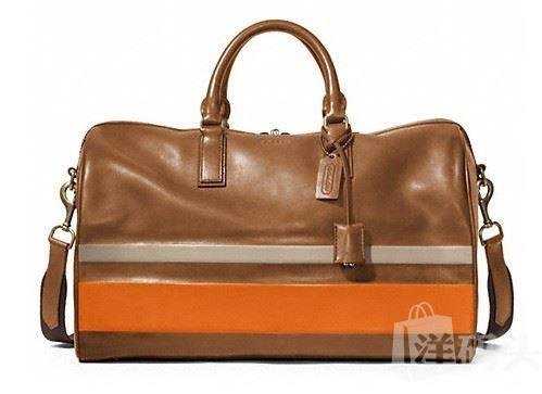 蔻驰 BLEECKER DEBOSSED PAINTED BOSTON BAG_STYLE: F93202