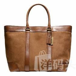[护航直邮] Coach/寇驰 BLEECKER SUEDE WEEKEND TOTE - F71027