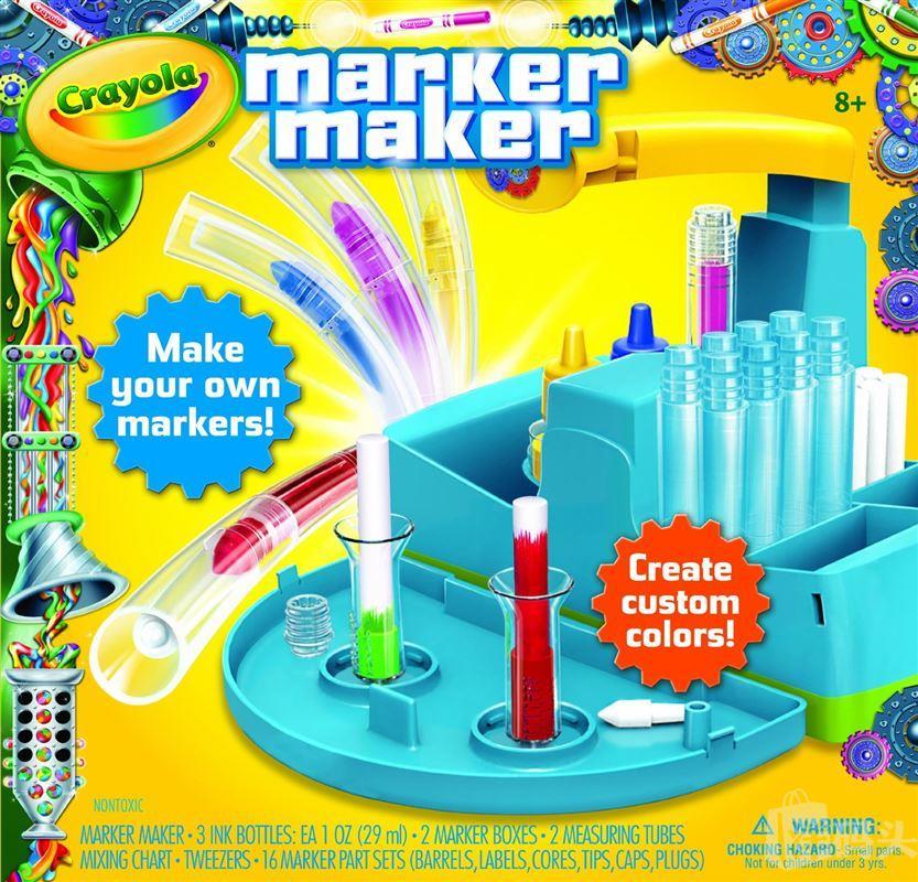 Crayola绘儿乐自制马克笔 DIY自制彩色笔