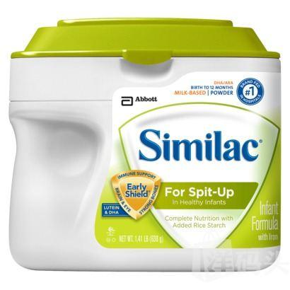 六桶包邮价 Similac 雅培 防吐奶 1段奶粉 657g