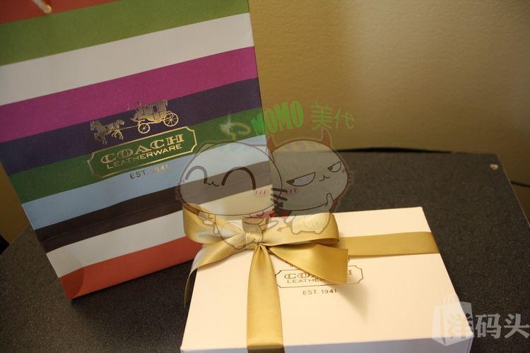 MOMO 美代  COACH 礼盒 纸袋  多种样式 联系客服改价格