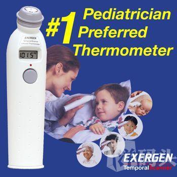 EXERGEN额扫式动脉体温计 婴儿电子额温计/比耳温计好