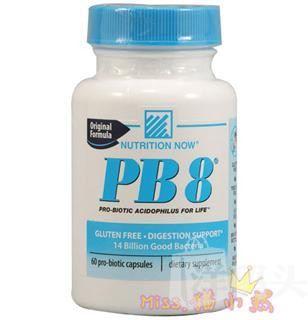 美国Nutrition Now益生菌140亿PB8针对妇科炎症120粒