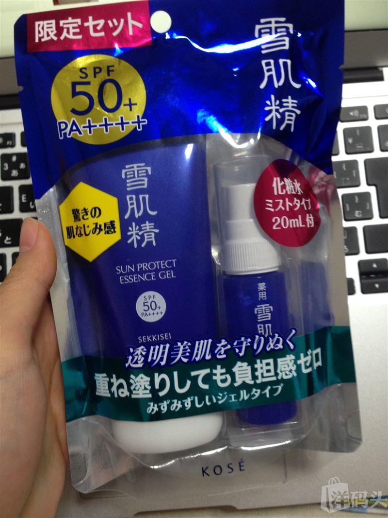 日本kose 雪肌精防晒乳80g  SPF50+/PA 4+