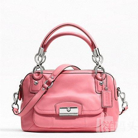 蔻驰 KRISTIN LEATHER DOUBLE ZIP SATCHEL_STYLE F22304