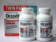 美国直邮博士伦OCUVITE叶黄素眼睛保健精华 120粒/瓶