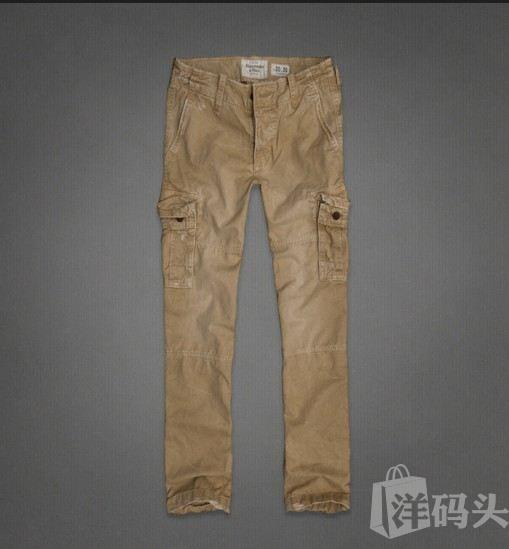 Abercrombie&Fitch AF男式工装长裤A&F Cargo Pants