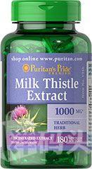 [5瓶起运] Puritan's Pride水飞蓟素奶蓟护肝抗氧化/Milk Thistle