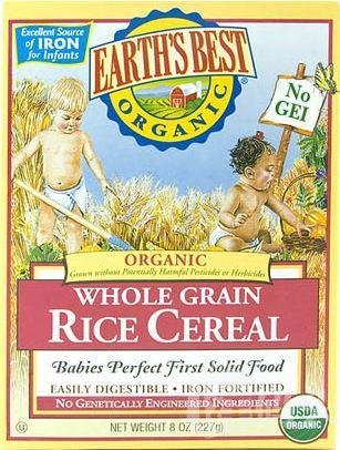 【超级奶爸】地球最好 世界最好 earth's best 米粉米糊 6种口味