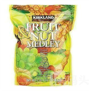 Kirkland 柯克兰混合果干坚果-香蕉、樱桃、夏威夷果