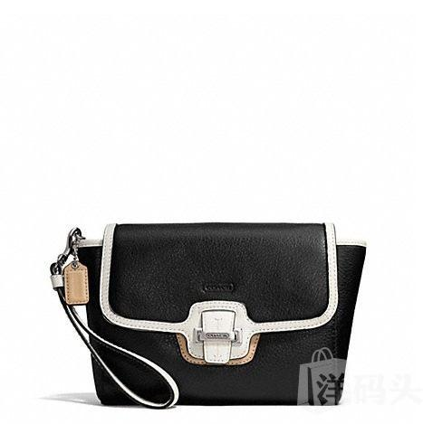蔻驰 TAYLOR SPECTATOR LEATHER FLAP CLUTCH_F50157