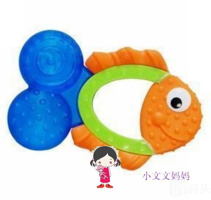 美国Sassy婴儿可爱小鱼牙胶不含BPA 宝宝出牙必备
