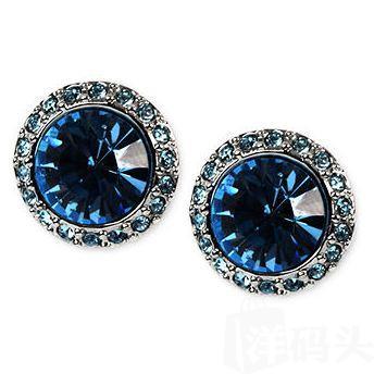 美国直邮【Givenchy】纪梵希水晶项链、耳环