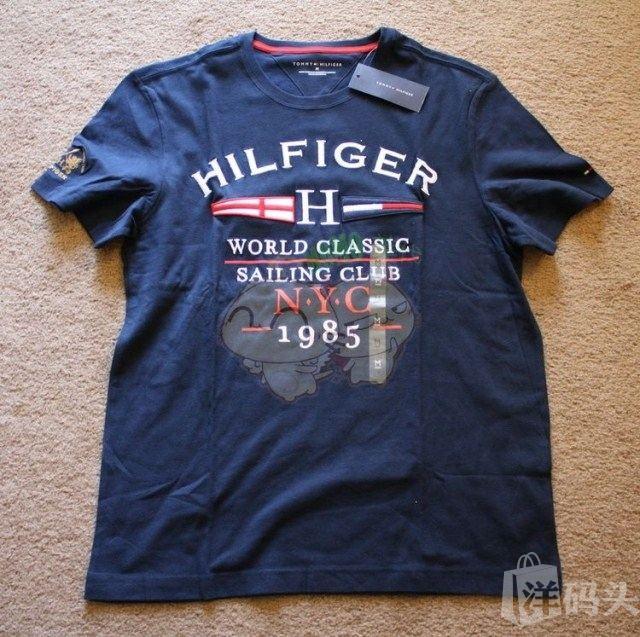 美国现货TOMMY HILFIGER  男T恤 美国现货