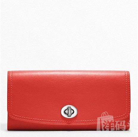蔻驰 LEATHER SLIM ENVELOPE_STYLE  F48003