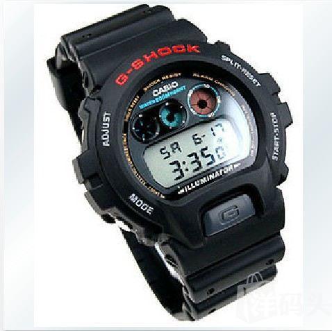 Casio 卡西欧潮人必备超经典复古运动手表G-SHOCK DW-6900-1V 折扣