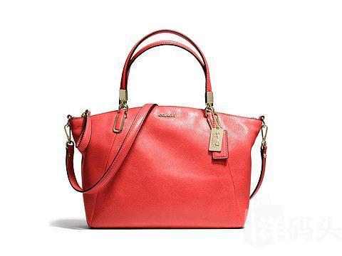 非工厂店COACH Madison 寇驰麦迪逊 红色单肩皮包 包邮包税