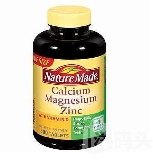Nature Made 钙镁锌+维生素D补充剂 300粒