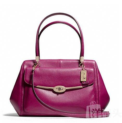 蔻驰 MADISON MADELINE EAST/WEST SATCHEL IN LEATHER_F25166