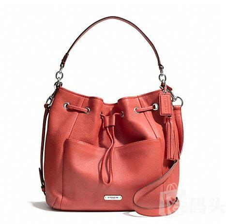 蔻驰 AVERY LEATHER DRAWSTRING_F27003