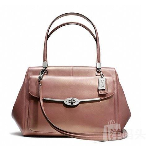 蔻驰 MADISON MADELINE EAST/WEST SATCHEL IN  LEATHER_F25164