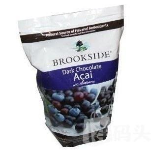 Brookside Acai blueberry 蓝莓夹心黑巧克力907克