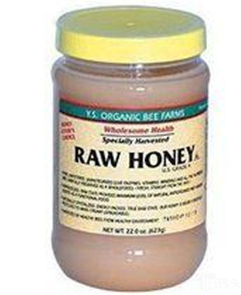 美国直邮Y.S. organic Raw Honey 天然有机原蜜 生蜂蜜623g