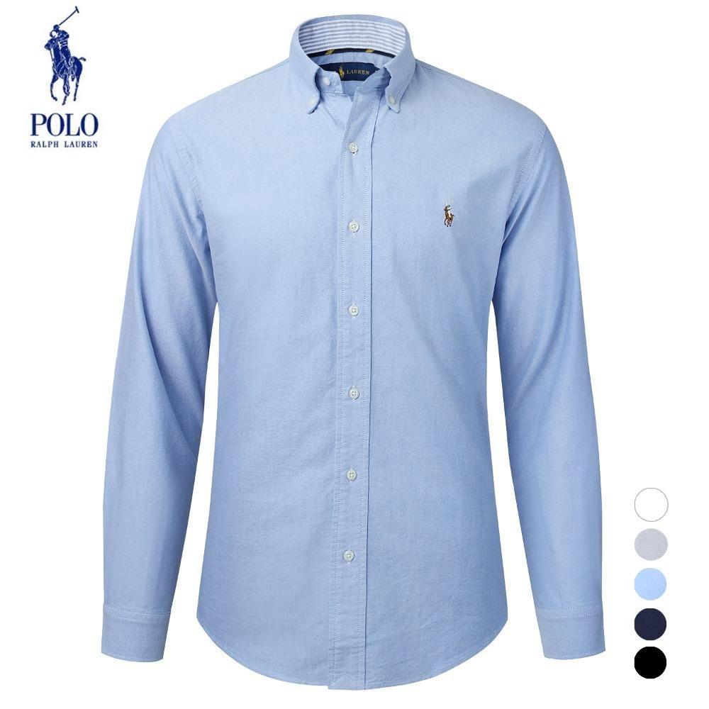 Ralph Lauren拉夫劳伦 Polo男士商务休闲长袖衬衣
