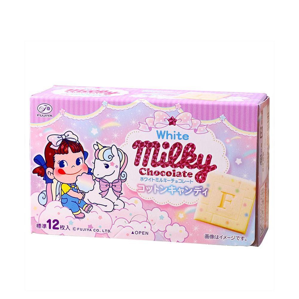 第二件半价~日本不二家牛奶味白巧克力60g~彩虹独角兽特别可爱版