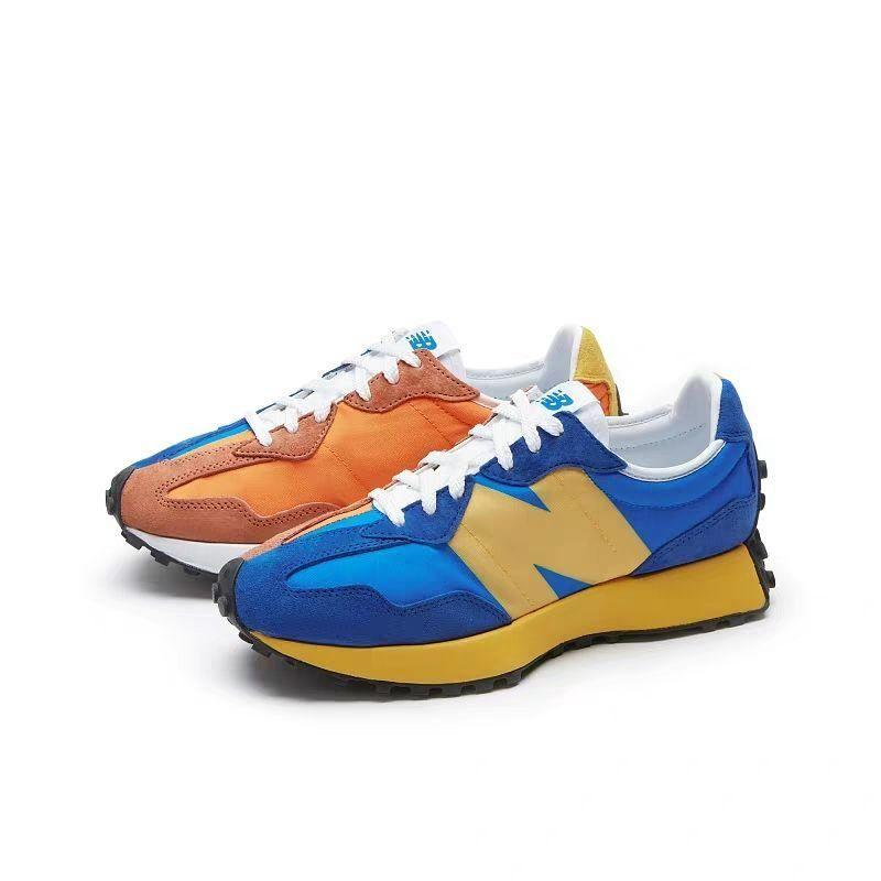 New Balance NB2020新款男女同款327蓝黄鸳鸯复古休闲鞋