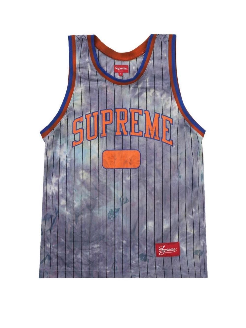 Supreme dyed basketball jersey FW20KN11 美国直邮
