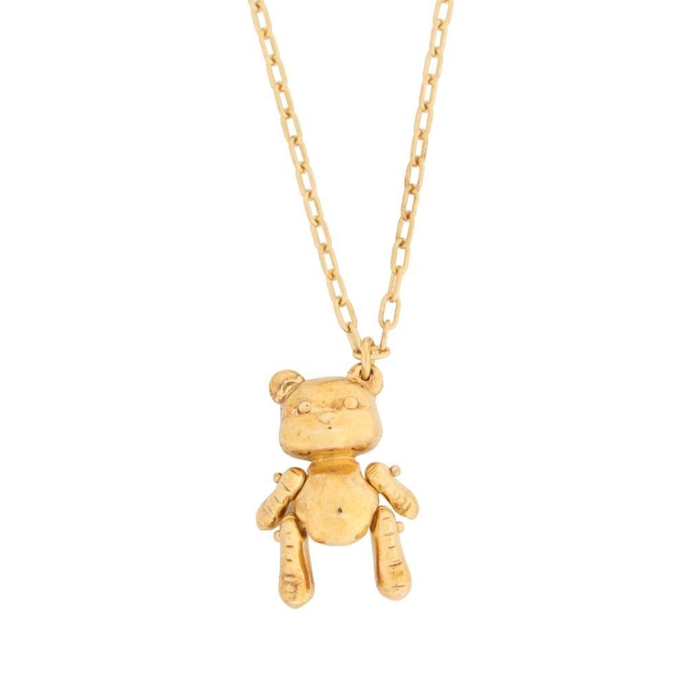折扣季 明星同款 AMBUSH  小熊/吉他拨片logo項饰项链 12111