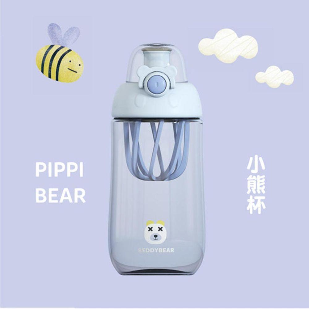 韩国杯具熊 BEDDY BEAR 儿童运动摇摇杯水杯 送杯刷