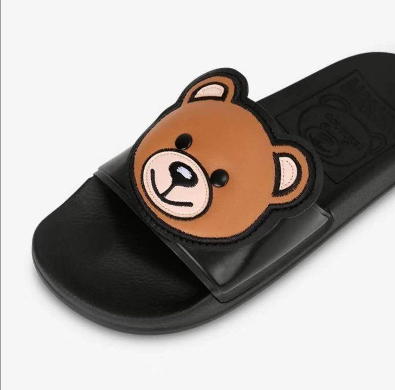Moschino莫斯奇诺春季新款小熊拖鞋 凉鞋
